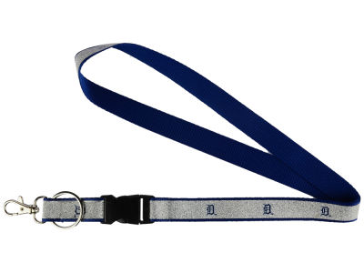 Detroit Tigers Sparkle Lanyard-Aminco
