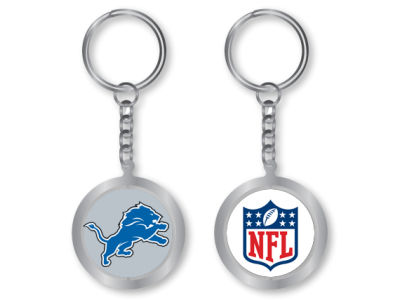 Detroit Lions Spinning Keychain
