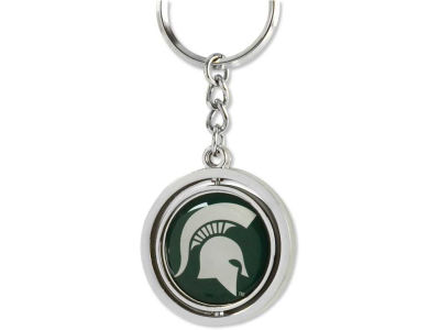 Michigan State Spartans Spinning Keychain