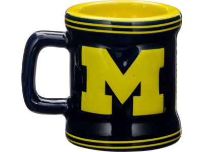 Michigan Wolverines 2oz Mini Mug Shot
