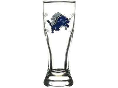 Detroit Lions Satin Etch Mini Pilsner