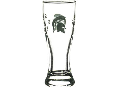Michigan State Spartans Satin Etch Mini Pilsner