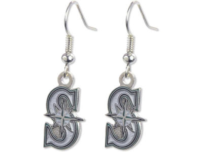 Seattle Mariners Logo Earrings