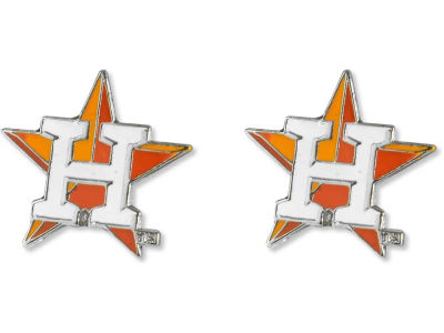 Houston Astros Logo Post Earrings