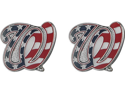 Washington Nationals Logo Post Earrings