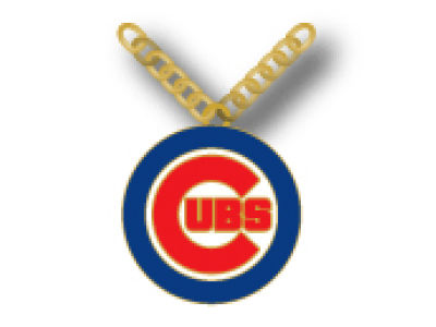 Chicago Cubs Team Logo Necklace Aminco