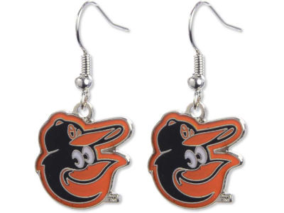 Baltimore Orioles Logo Earrings