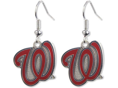 Washington Nationals Logo Earrings