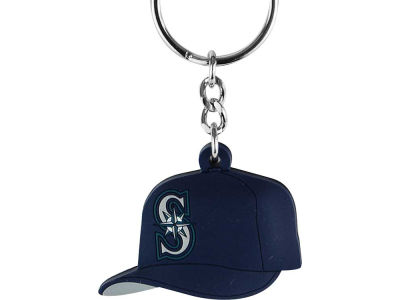 Seattle Mariners MLB Soft Rubber Cap Keychain