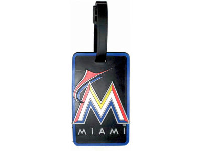 Miami Marlins Soft Bag Tag
