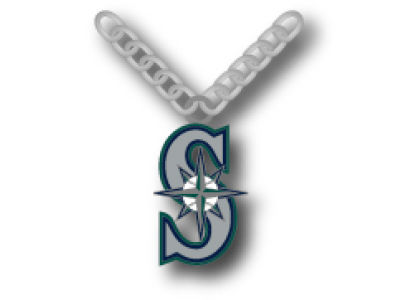 Seattle Mariners Team Logo Necklace Aminco