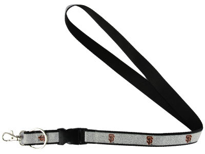 San Francisco Giants Sparkle Lanyard-Aminco