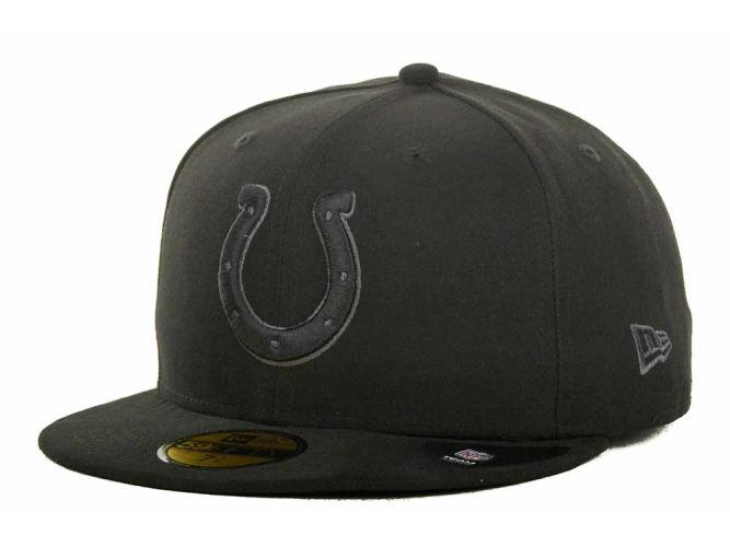 ... italy indianapolis colts new era nfl black gray basic 59fifty cap colts  pro shop 9f998 f1350 b948e2d25