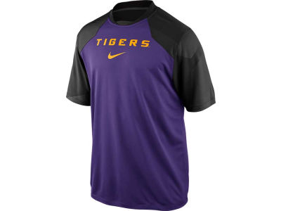LSU Tigers Nike NCAA Fly Slant Top