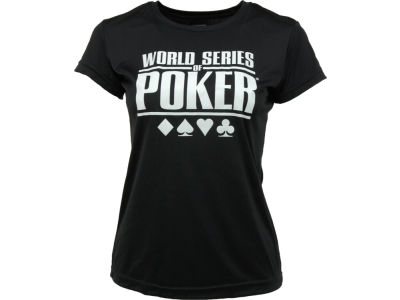 WSOP Womens Dry Tech T-Shirt