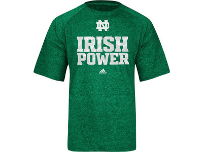 Notre Dame Fighting Irish adidas NCAA Sideline Power Climalite T-Shirt