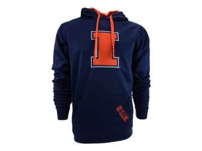 Illinois Fighting Illini NCAA T-Formation Poly Hoody