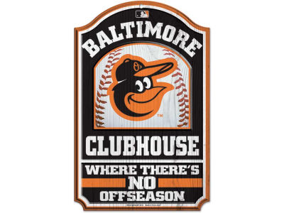 Baltimore Orioles 11x17 Wood Sign