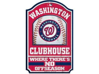 Washington Nationals 11x17 Wood Sign