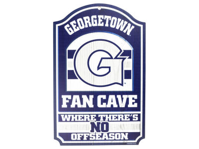Georgetown Hoyas 11x17 Wood Sign