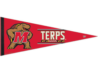 Maryland Terrapins 12x30in Pennant