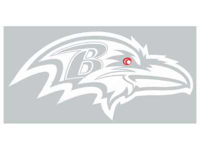 "Baltimore Ravens Die Cut Decal 8""x8"""