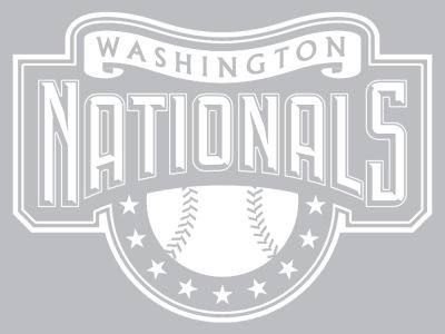 "Washington Nationals Die Cut Decal 8""x8"""