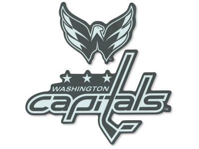 "Washington Capitals Die Cut Decal 8""x8"""