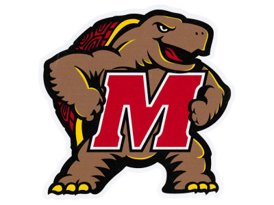 Maryland Terrapins Die Cut Color Decal 8in X 8in
