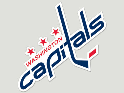 Washington Capitals Die Cut Color Decal 8in X 8in