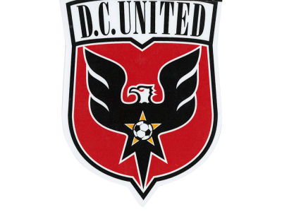 DC United Die Cut Color Decal 8in X 8in