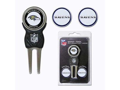 Baltimore Ravens Divot Tool and Markers