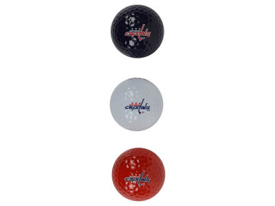 Washington Capitals 3-pack Golf Ball Set