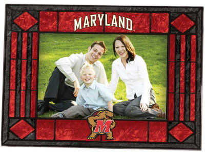 Maryland Terrapins Art Glass Picture Frame
