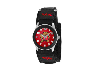 Maryland Terrapins Rookie Kids Watch Black