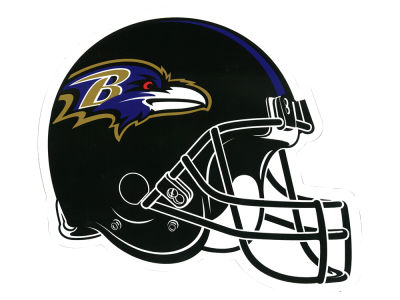Baltimore Ravens 8in Car Magnet
