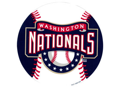 Washington Nationals 8in Car Magnet