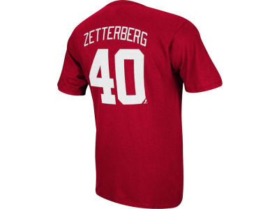 Detroit Red Wings Henrik Zetterberg Reebok NHL Men's Player T-Shirt