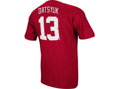 Detroit Red Wings Pavel Datsyuk Reebok NHL Men's Player T-Shirt