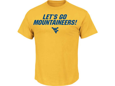 West Virginia Mountaineers NCAA Men's Big Ambition T-Shirt