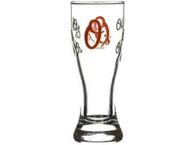 Baltimore Orioles Satin Etch Mini Pilsner