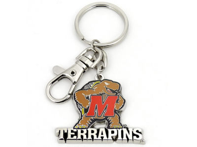 Maryland Terrapins Heavyweight Keychain