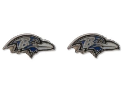 Baltimore Ravens Logo Post Earrings