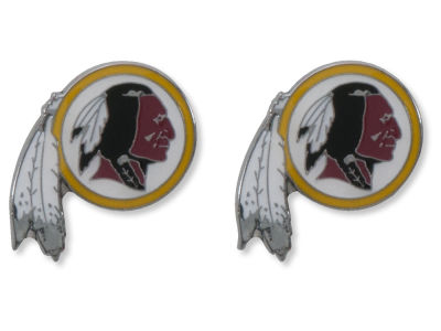 Washington Redskins Logo Post Earrings