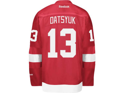 Detroit Red Wings Pavel Datsyuk Reebok NHL Men's Premier Player Jersey