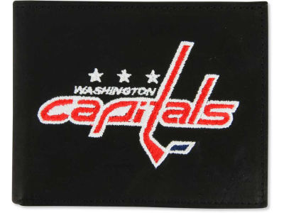 Washington Capitals Black Bifold Wallet