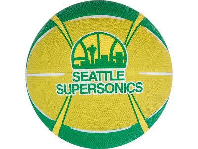 Seattle SuperSonics Primary Logo Ball Size 3 Unboxed