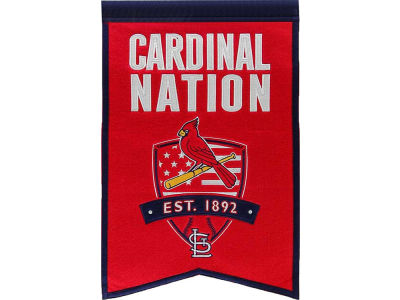 St. Louis Cardinals Winning Streak Nations Banner