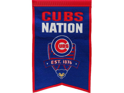Chicago Cubs Winning Streak Nations Banner
