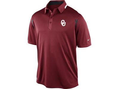 Oklahoma Sooners Nike NCAA Mens Elite Coaches Polo Shirt